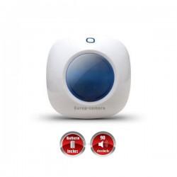 Sirene flash estroboscópica interior sem fio com bateria integrada G5 / S5 / S9 / A9