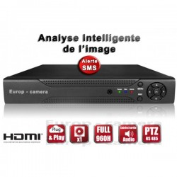 Gravador digital HVR 4 canais FULL 960H / WD1 H264 - HDMI - Análise inteligente - Plug and play