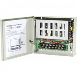 Fonte de alimentação profissional 12 volts - 20 amp - 18 saídas