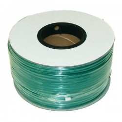 Cabo coaxial KX6 verde bobina de 500m