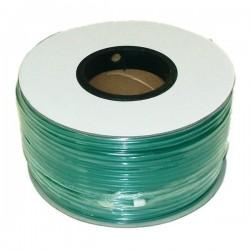 Cabo coaxial KX6 verde bobina de 100m