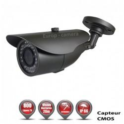 Câmera bullet 800 linhas 1/3 Sensor CMOS IR 20m à prova de água