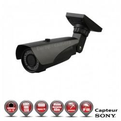 Câmera bullet varifocal 1000 TVL 960H 1/3 SONY IMX138 IP66 IR 40m à prova de vandalismo