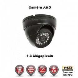 Câmera dome AHD 960P 1.3MP Sensor 1/3 SONY IMX238 IR 20m à prova de água e de vandalismo
