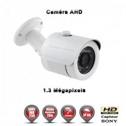 Câmera bullet AHD 960P 1.3MP Sensor 1/3 SONY IMX238 IR 20m à prova de água e de vandalismo