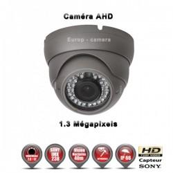 Câmera dome AHD 960P 1.3MP Sensor 1/3 SONY IMX238 IR 35m à prova de água e de vandalismo