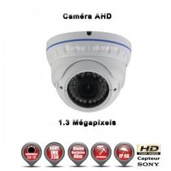 Ver maior Câmera dome AHD 960P 1.3MP Sensor 1/3 SONY IMX238 IR 35m à prova de água e de vandalismo