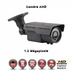 Câmera bullet AHD 960P 1.3MP Sensor 1/3 SONY IMX238 IR 60m à prova de água e de vandalismo